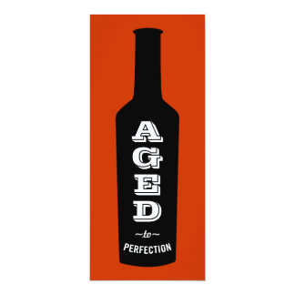 Aged to Perfection Birthday Party Invitation