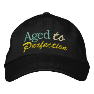 Aged to Perfection by SRF Embroidered Hats