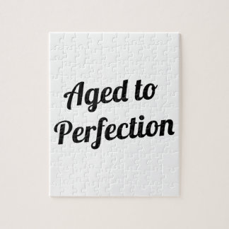 Aged to Perfection Jigsaw Puzzle
