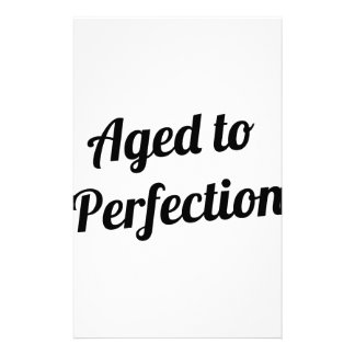 Aged to Perfection Stationery