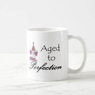 Aged to Perfection T-shirts and Gifts. Basic White Mug