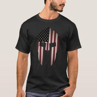 Aged USA Spartan T-Shirt