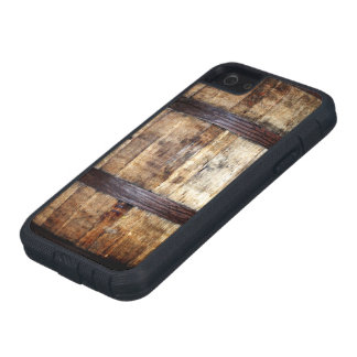 Aged Wood Barrel iPhone 5 Covers