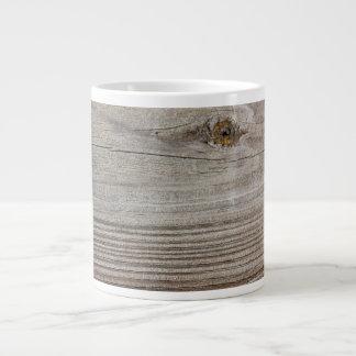 Aged Wood Jumbo Mugs