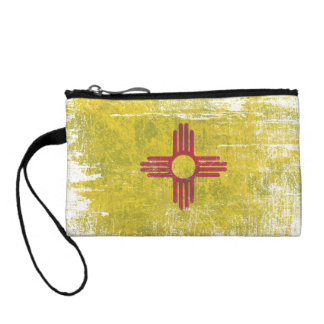 Ageing of the New Mexico flag Coin Purse
