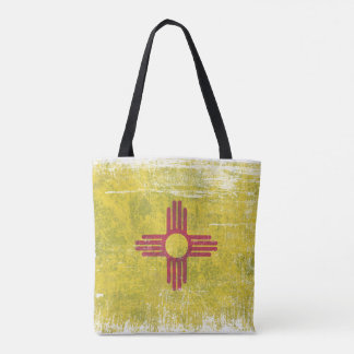 Ageing of the New Mexico flag Tote Bag