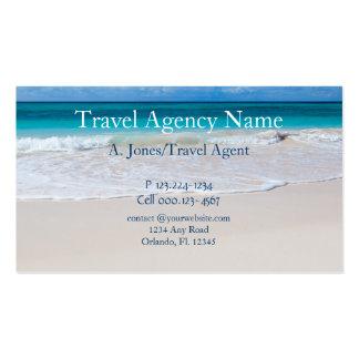 Agence de voyages cartes de visite professionnelles