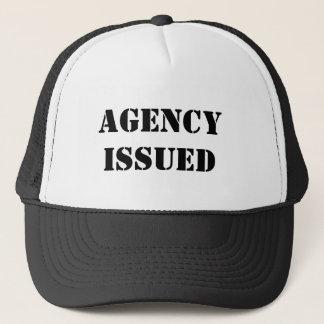 Agency Issued trucker cap
