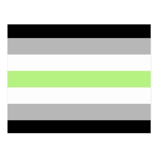 Agender Pride Flag Postcard