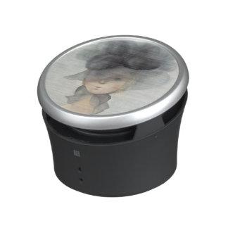 Agenouillements de Mme 2597 désir devant l'implori Haut-parleur Bluetooth
