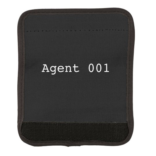 Agent 001 Luggage Handle Wrap