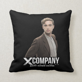 Agent Alfred Graves Throw Pillow