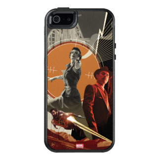 Agent Carter And Howard Stark Collage OtterBox iPhone 5/5s/SE Case