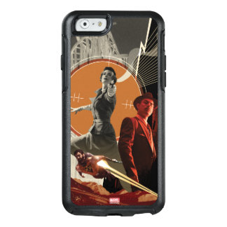 Agent Carter And Howard Stark Collage OtterBox iPhone 6/6s Case