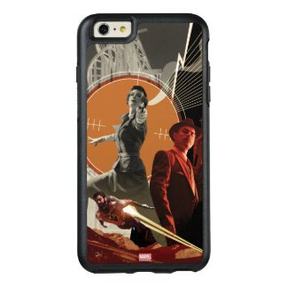 Agent Carter And Howard Stark Collage OtterBox iPhone 6/6s Plus Case