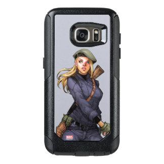 Agent Carter In Uniform OtterBox Samsung Galaxy S7 Case