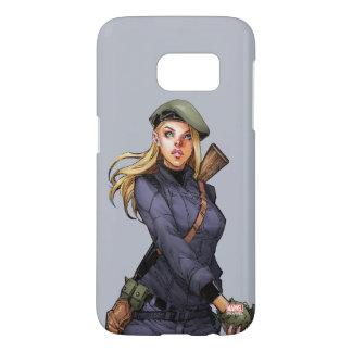 Agent Carter In Uniform Samsung Galaxy S7 Case