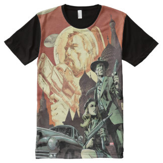 Agent Carter With Howard Stark All-Over-Print T-Shirt