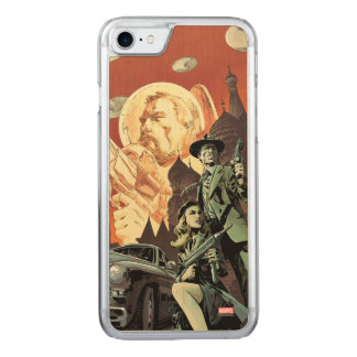 Agent Carter With Howard Stark Carved iPhone 8/7 Case