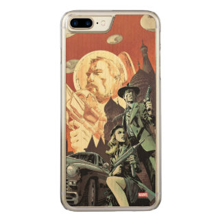 Agent Carter With Howard Stark Carved iPhone 8 Plus/7 Plus Case
