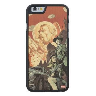 Agent Carter With Howard Stark Carved Maple iPhone 6 Case