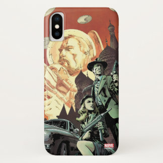Agent Carter With Howard Stark iPhone X Case