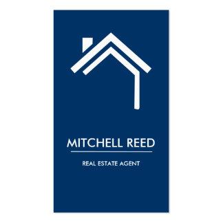 Agent immobilier moderne de no. 43 % pipe% du cart cartes de visite personnelles