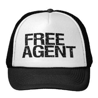 Agent libre (simple) casquettes de camionneur