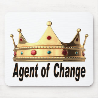 Agent of Change Mouse Pad