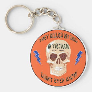 Agent Orange Keychain