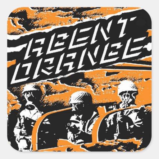 "Agent Orange ""Punk Army"" Stickers Skate Punk"