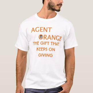 agent orange THE GIFT THATKEEPS ON GIVING T-Shirt