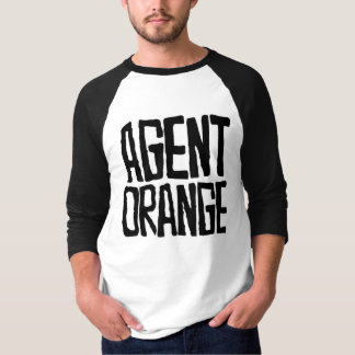 "Agent Orange ""Thrashed"" Logo Jersey Baseball Punk T-Shirt"