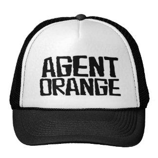 """Agent Orange """"Thrashed"""" Logo Punk Hat Skate"""