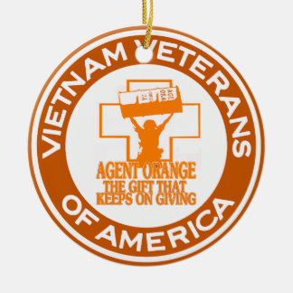Agent Orange VVA Ceramic Ornament