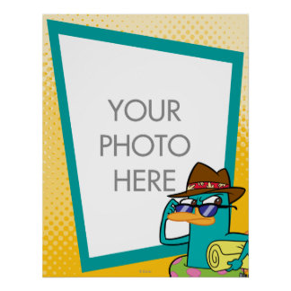 Agent P Customizable Poster