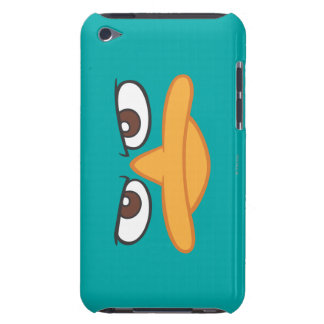 Agent P Face iPod Touch Case-Mate Case