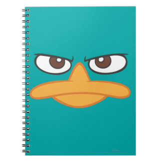 Agent P Face Notebook