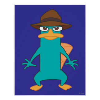 Agent P Pose Poster