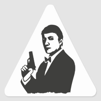 Agent Triangle Sticker