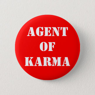 Agentof Karma 2 Inch Round Button