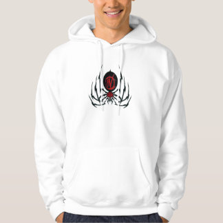 Agents In Red Spider Style Basic Hooded Sweatshirt