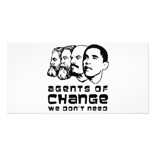 Agents of change we don't need photo cards