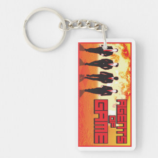 Agents of Game - Agency Keychain