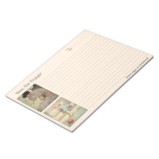 Ages of Childhood Prayer Notebook Notepads