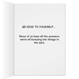 Ages Wisdom fun positive comic path to a truth Greeting Card