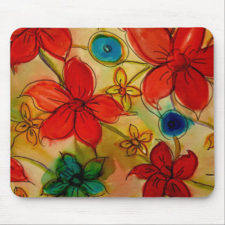 Aggelikis Floral Pattern Mousepad