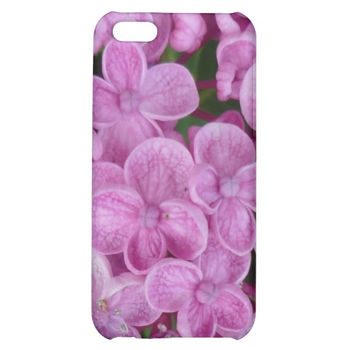 Aggelikis Purple Hydrangea Design iPhone 5C Cover