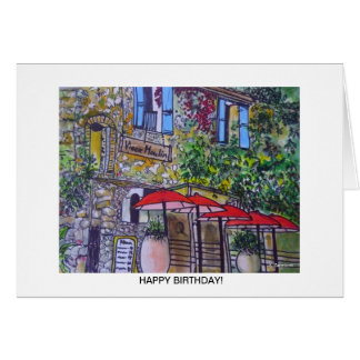 Aggelikis Vieux Moulin, Provence, France Greetings Card