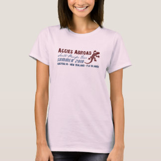Aggies Abroad - Design 3 T-Shirt